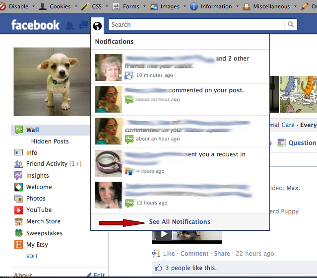Animals and other stuff how to block the game requests on facebook