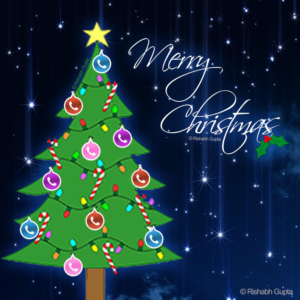 Whatsapp Profile DP- Merry Christmas