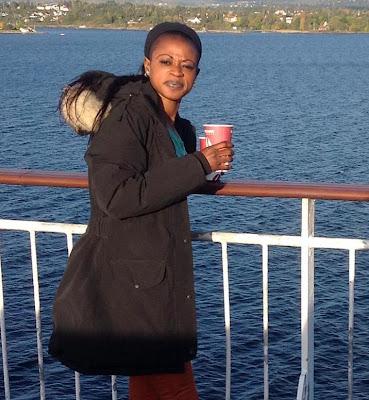 Gambian Youngman: Manuela Arinze's honeymoon with Omar Faye