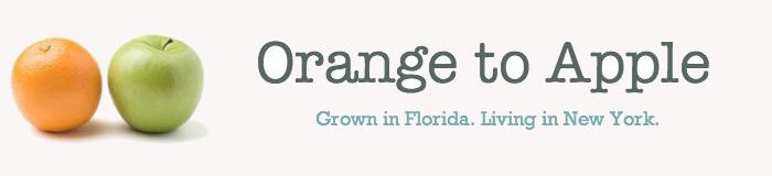 Orange to Apple