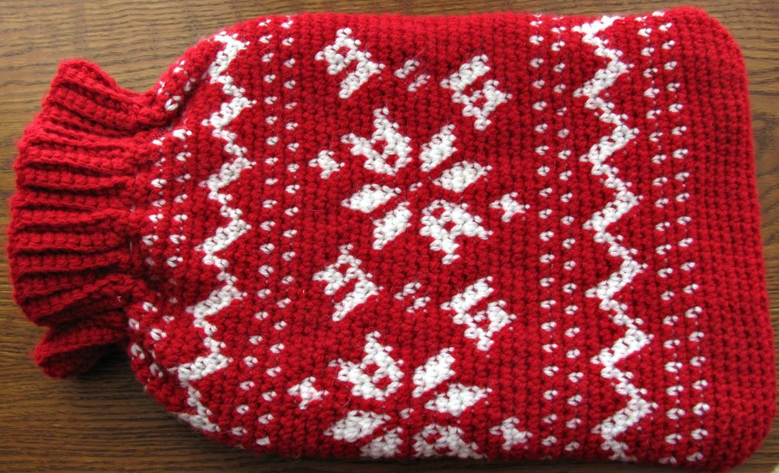 half double: Fair Isle Crochet