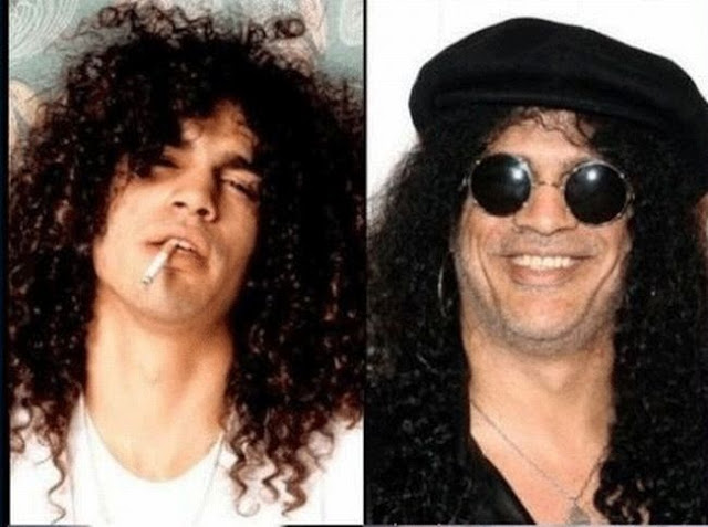 slash-rock stars then and now
