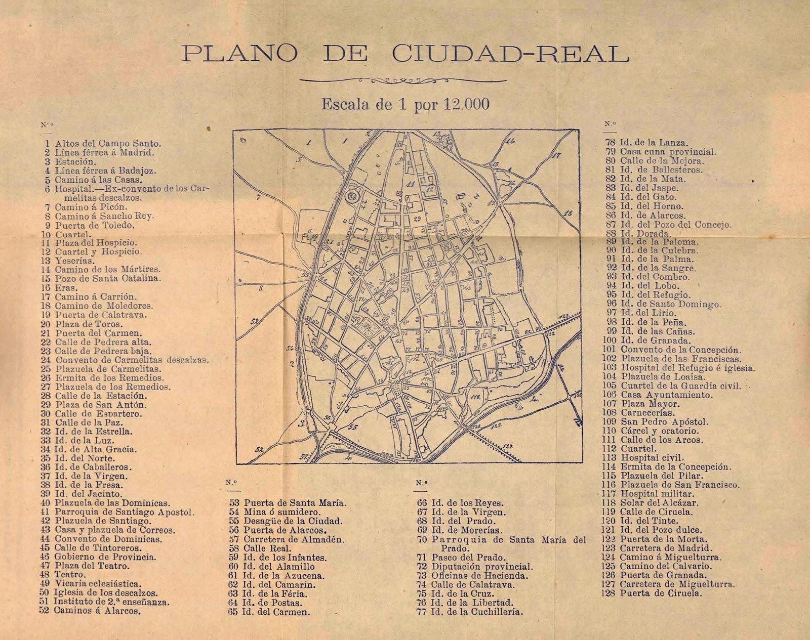 El sayon un plano de ciudad real de 1885 - Plano de ciudad real ...