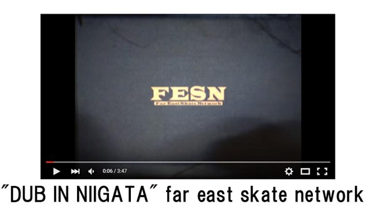 """DUB IN NIIGATA"" far east skate network"