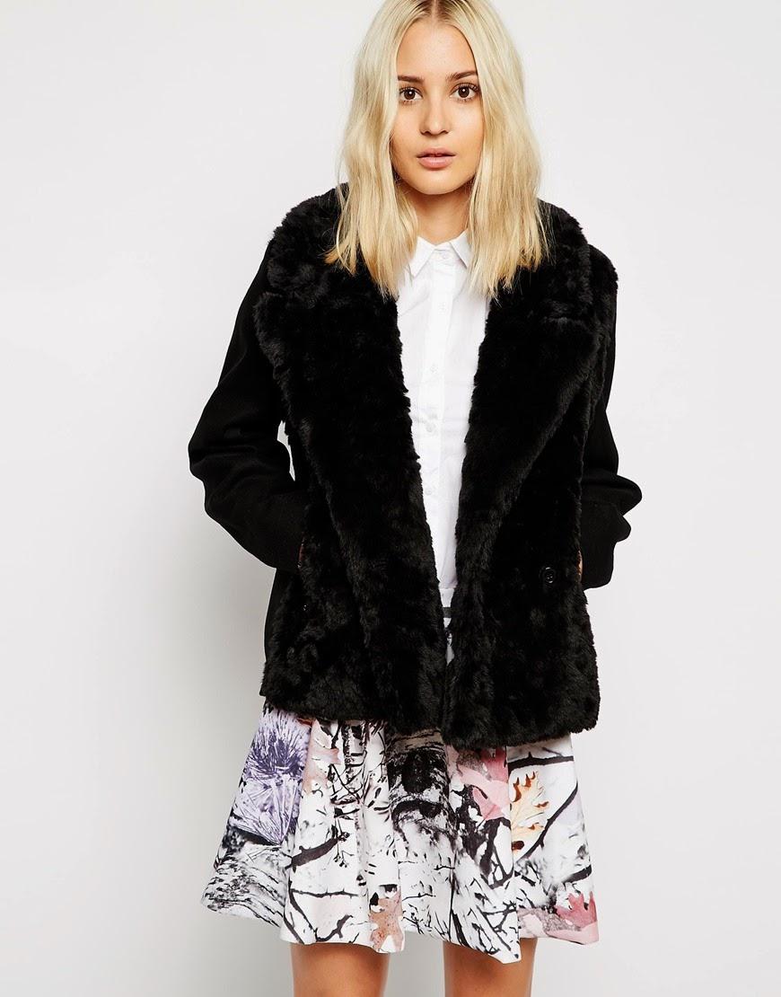 fur biker jacket