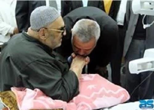 Syaikh Abudl Karim Kahlut daat dirawat di rumah sakit (InfoPalestina)