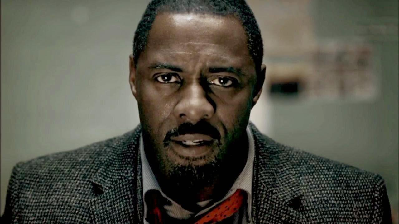 El detective Luther, interpretado por Idris Elba, en un primer plano