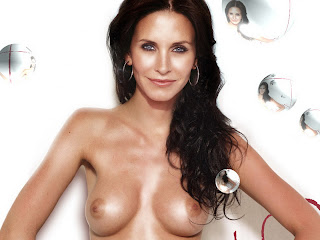 Courtney Cox young naked photo shoot UHQ