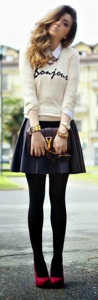 Stylish fall fashion...