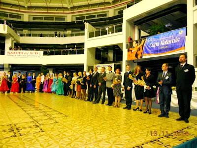 Parada dansatorilor si prezentarea arbitrilor