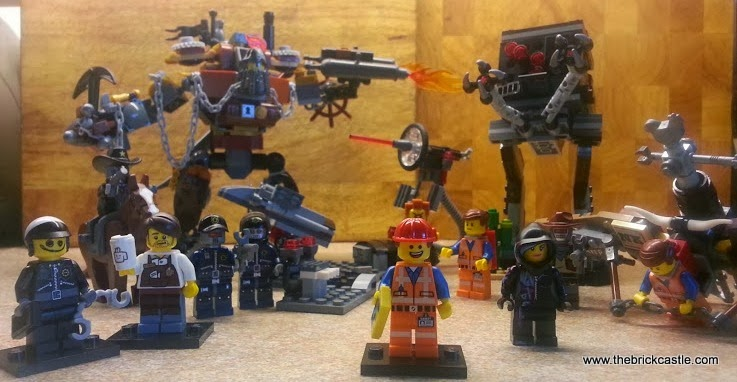 LEGO Movie minifigures Micromanager