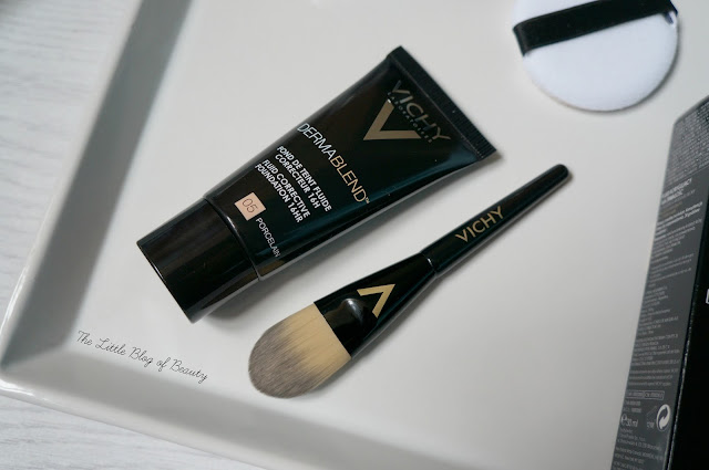 Vichy Dermablend Fluid corrective foundation and setting powder