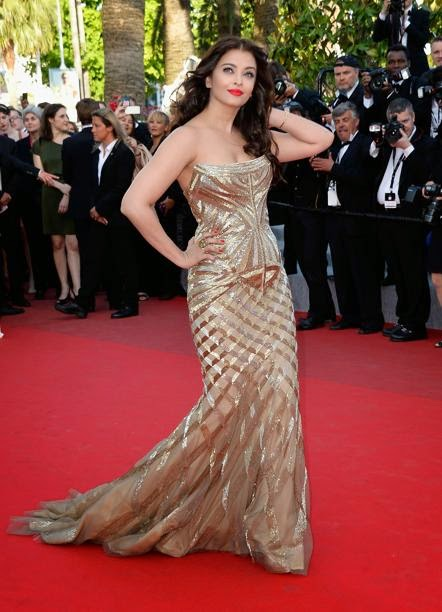 Aishwarya Rai hot hd wallpapers from cannes 2014