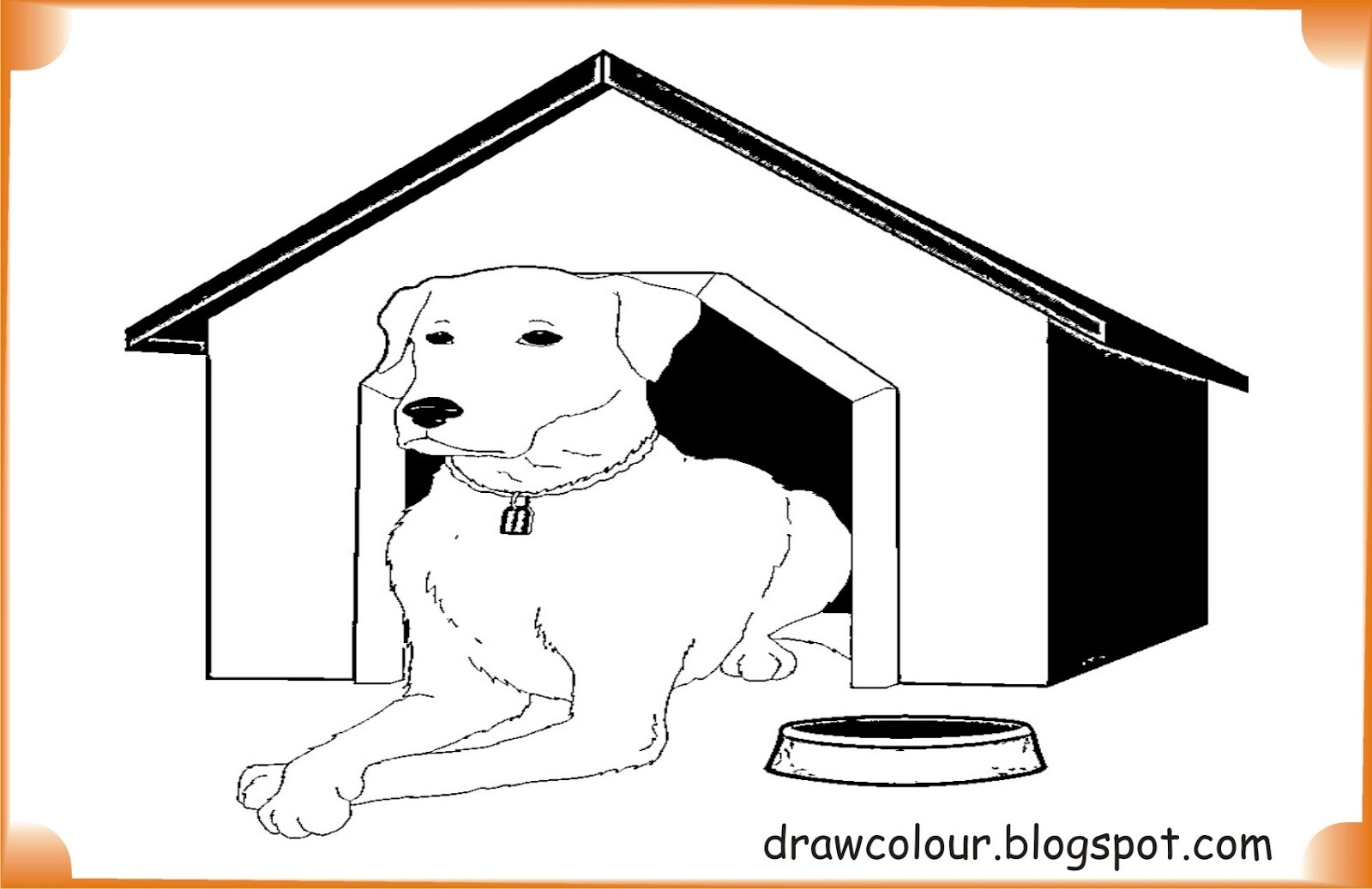 printable-dog_in_house-coloring-pages