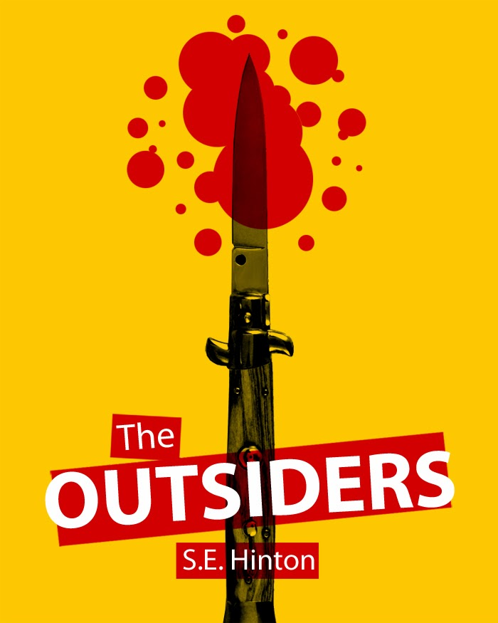 The Outsiders Drawing Book Cover ~ Fda digital media design existing book covers