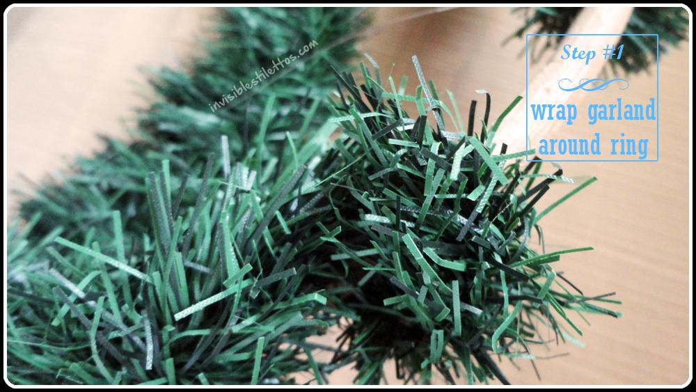 Christmas Wreath Chandelier