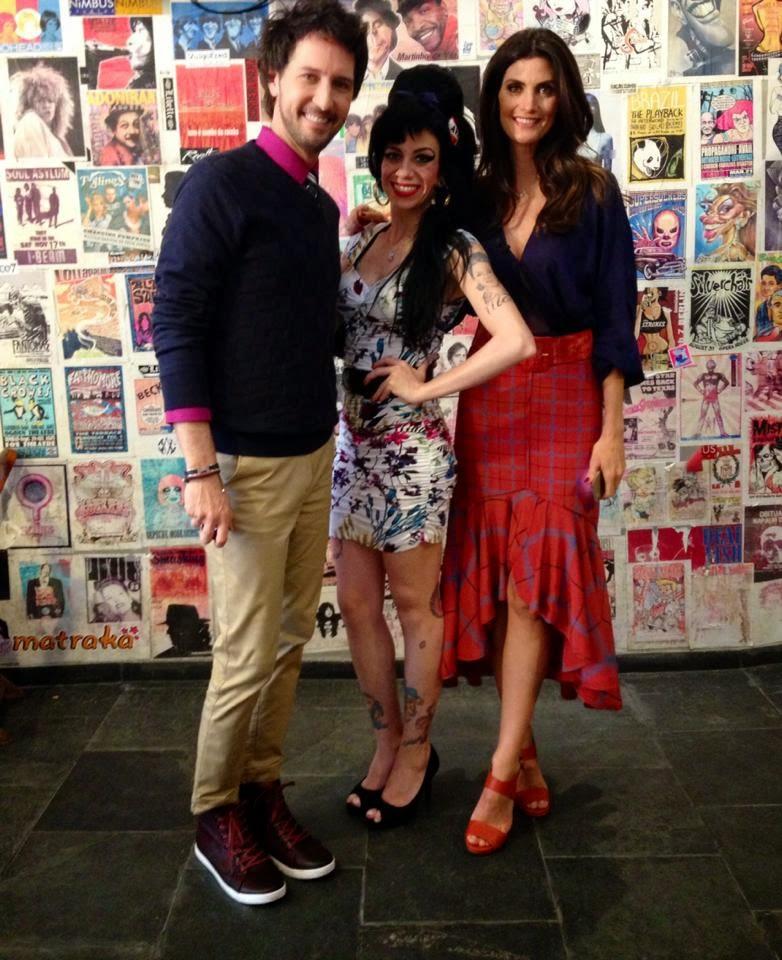 SBT - Sósia Amy Winehouse no Esquadrão da Moda