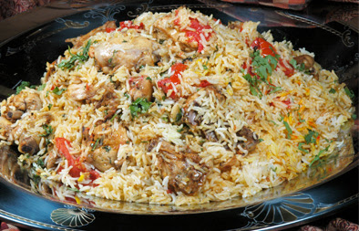 Chicken beryani recipe arabic food recipes forumfinder Image collections