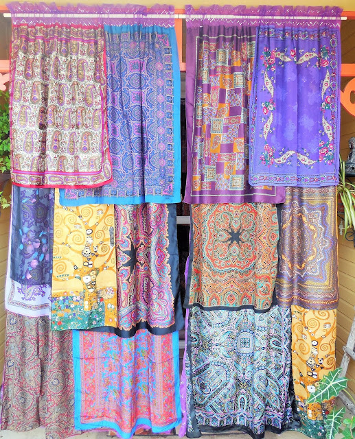 bohemian gypsy curtains