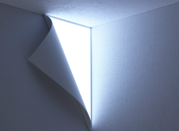 Peel Wall Light By Yoy : Peel - Peeling Wall Light Spicytec