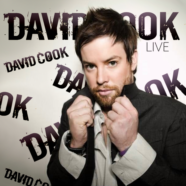 david cook album artwork. David Cook - Live (FanMade