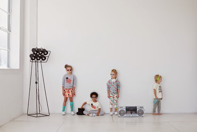 Gardner and the Gang spring/summer 2015 cool kidswear collection