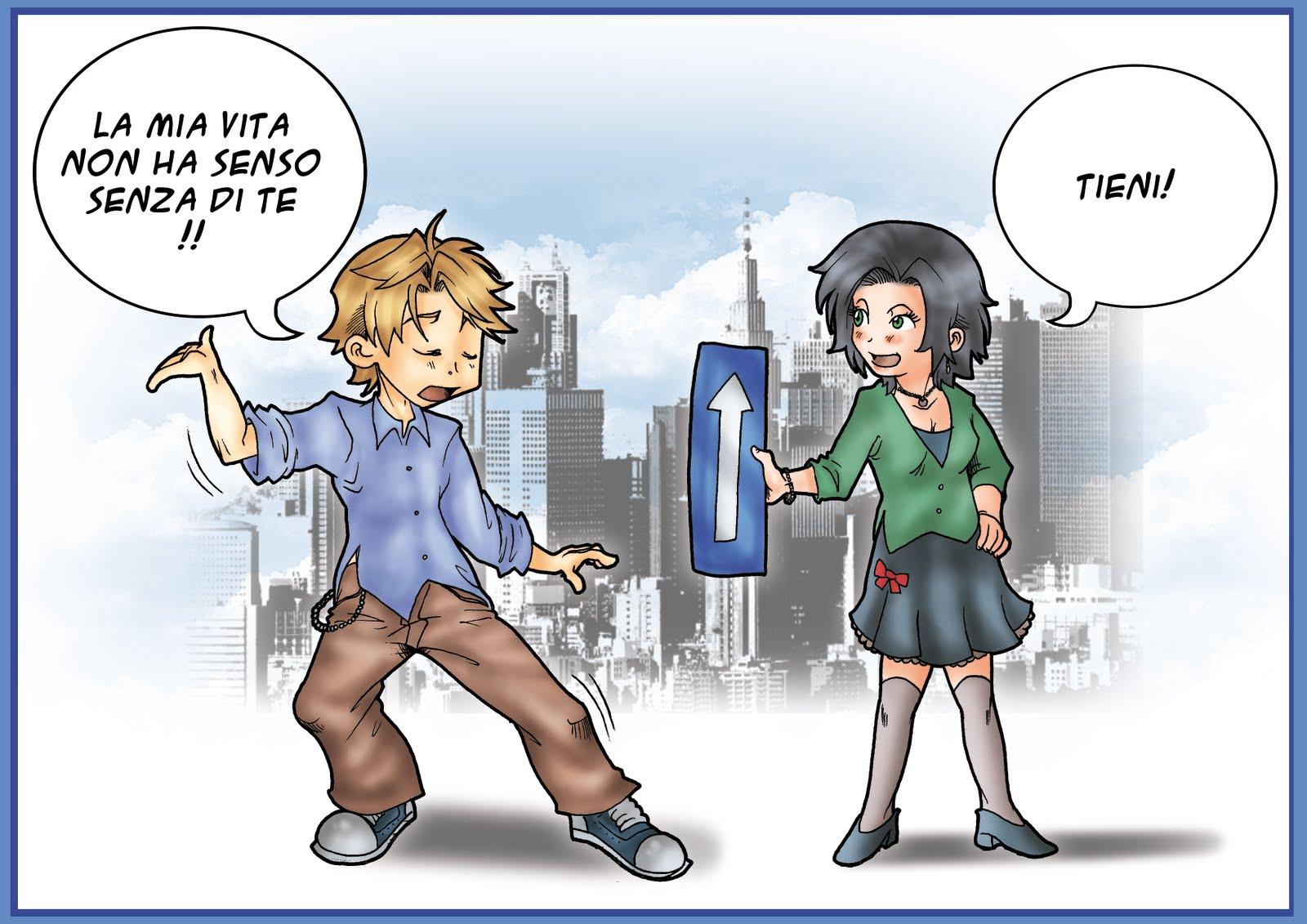 Gaetano Longo Comics Rapporto Uomo Donna