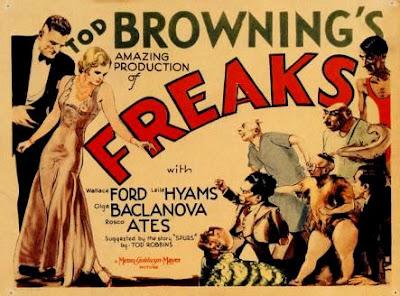 Freaks, La parada de los monstruos o Fenómenos (1932).