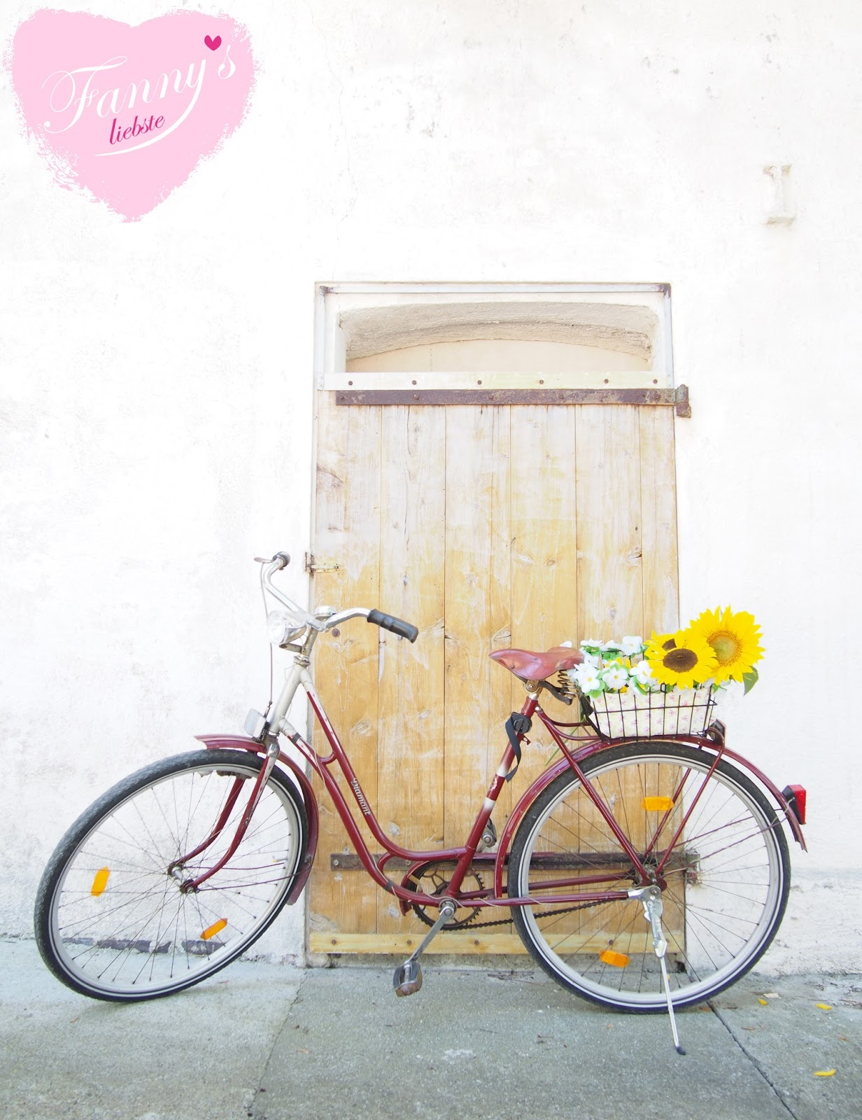 fahrrad blumen fanny s liebste. Black Bedroom Furniture Sets. Home Design Ideas