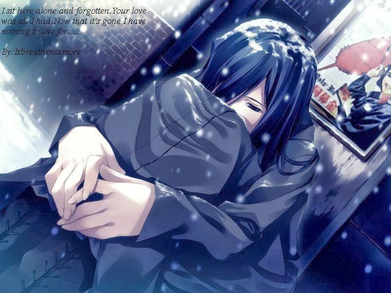Anime Sad Love Latest HD Picture