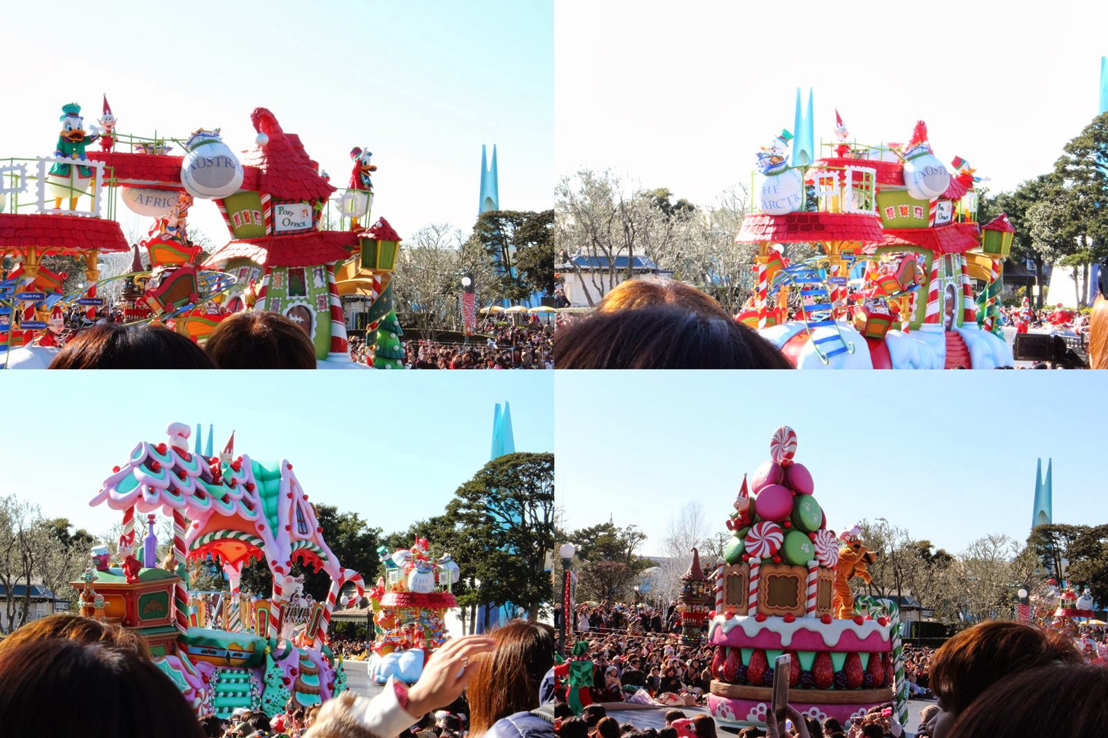 東京迪士尼聖誕節遊行