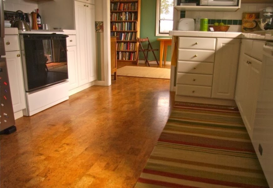 Cork kitchen flooring cork kitchen flooring for Cork flooring kitchen reviews