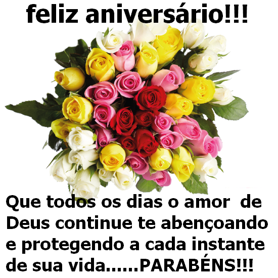 Feliz Aniversário Deus