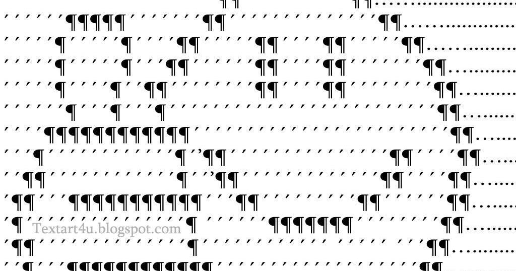 Single Line Ascii Art Faces : Ascii text bing images