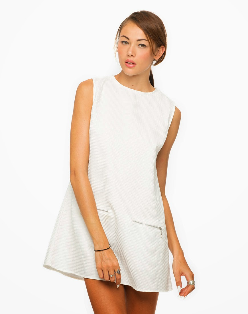 White Club Dresses For Juniors