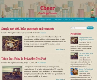 Cheer Blogger Template