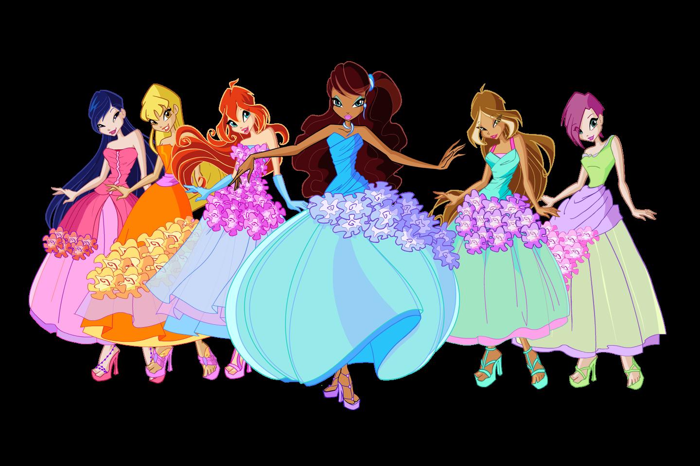 Fairies of winx club outfit winx club 5 serie - Princesse winx ...