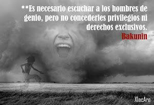 Palabra de Bakunin*