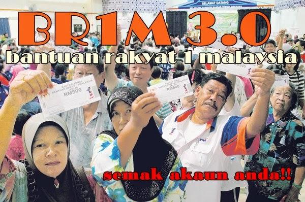 br1m 3.0, pembayaran br1m 3.0, br1m sudah masuk akaun, gamabr pembayaran br1m 3.0, bayaran br1m, bantuan rakyat 1malaysia 2014, bantuan rakyat, BR1M 3.0