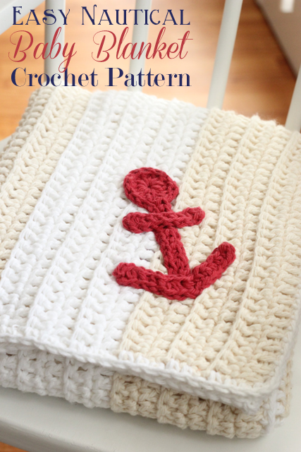 free crochet pattern nautical theme blanket