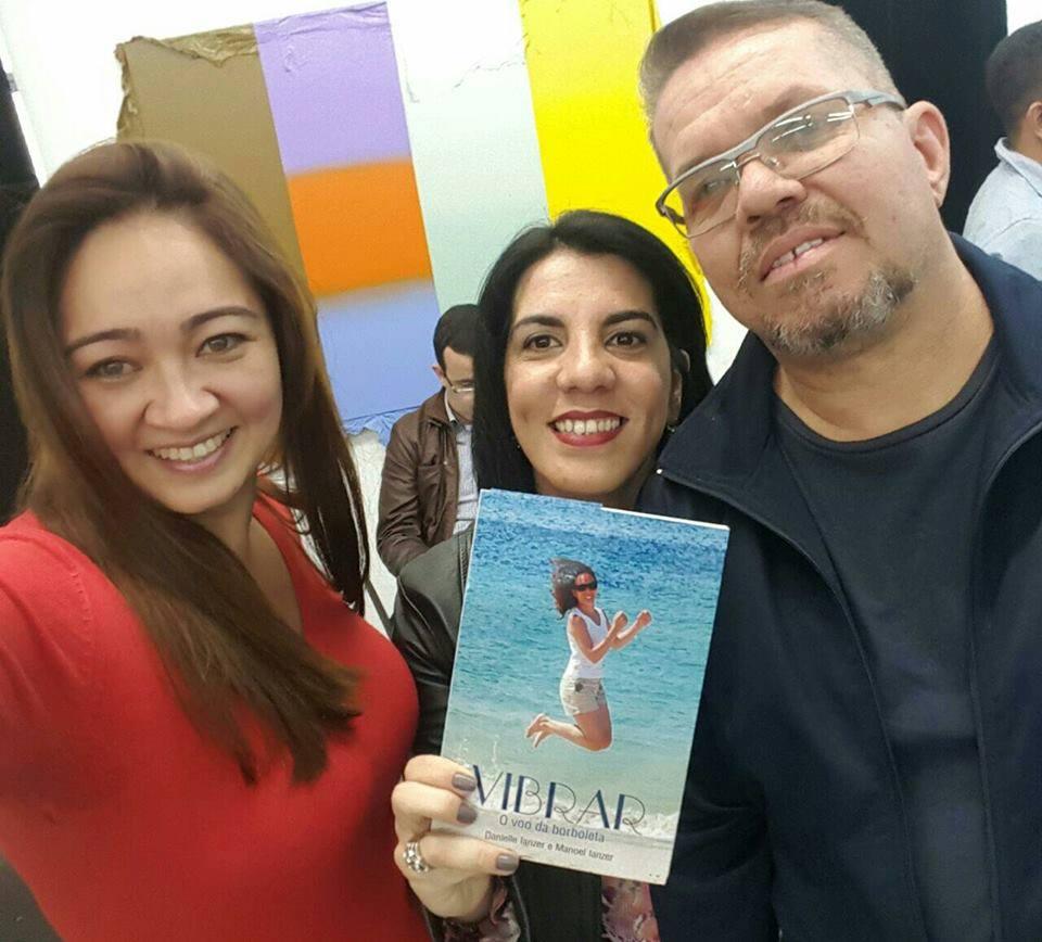 Tatiana, Carla Areias e Márcio Cirilo