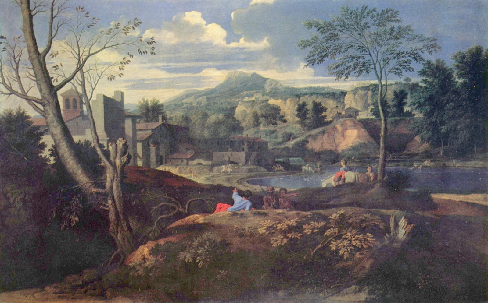 Grail Seekers Does Poussin S Ideal Landscape Painting