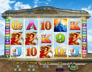 Thunder king slot machine