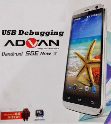 Cara Aktifkan USB Debugging di Advan S5E New KitKat