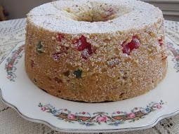 Old Fashioned Gumdrop Cake