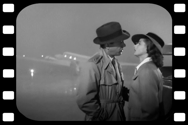 Stills from the movie Casablanca.