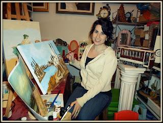 Eliza clases de pintura Buenos Aires