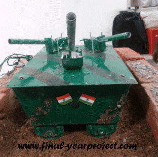 Tri Barrel Screw Type Hybrid Army Tank