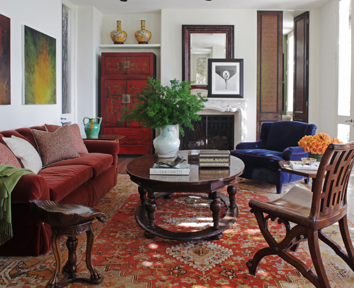 Luxury Bohemian Interiors : Martyn Lawrence Bullard Design