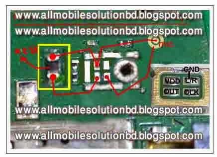 Nokia 302 mic problem solution